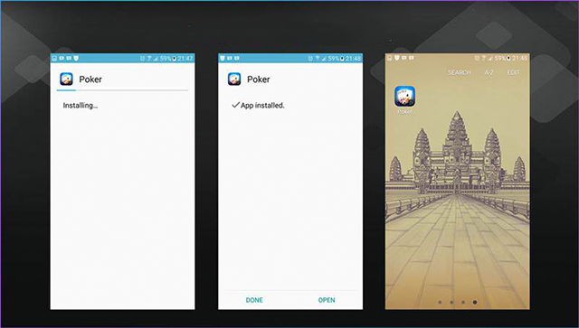 install aplikasi poker android 2