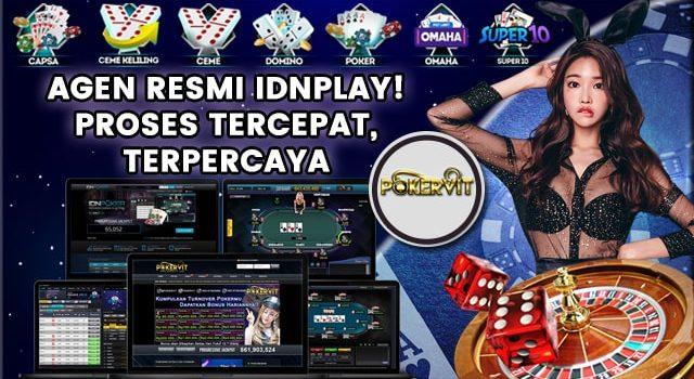 agen idnplay poker online